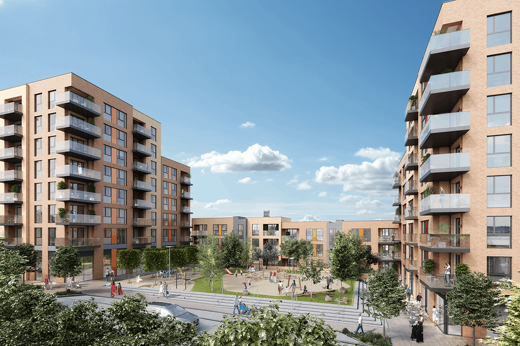 (w)The CGI exterior of Central Square. Call JLL on 020 7087 5111 for more i...
